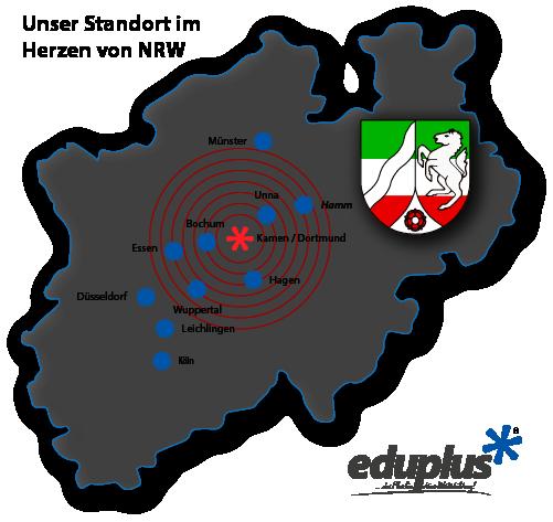 Standort eduplus in Kamen - Krte NRW